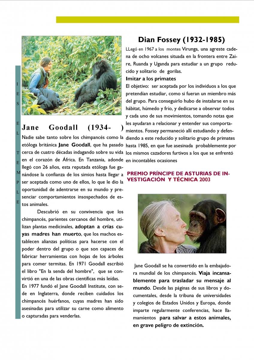 Fossey-y-Jane-Goodall